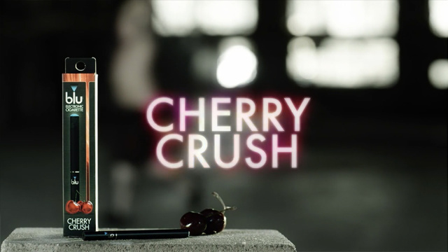 BLU CIGARETTE- CHERRY CRUSH/ COMMERCIAL